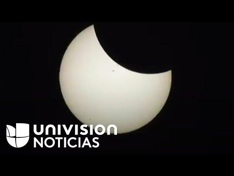 En vivo: Una mirada de cerca al eclipse solar