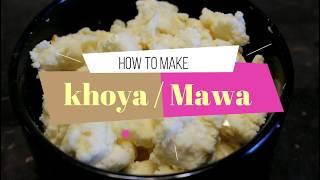 HOW TO MAKE KHOYA/ MAWA At HOME- کھویا بنانے کا اسان طریقہ -Original homemade Mawa Recipe