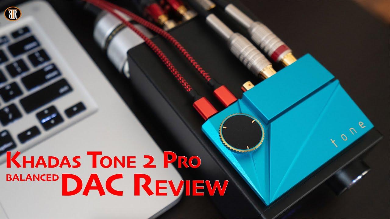 Khadas Tone 2 Pro, Tiny Size Balanced DAC