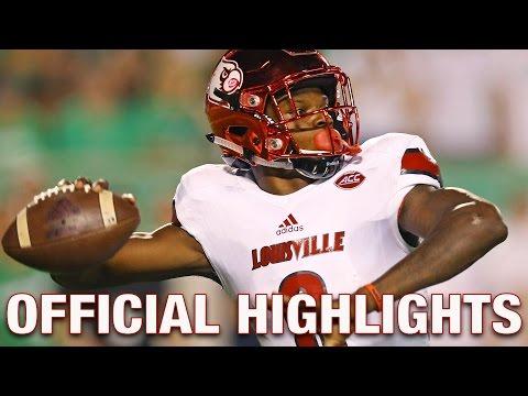Lamar Jackson Official Highlights | Louisville Cardinals Quarterback