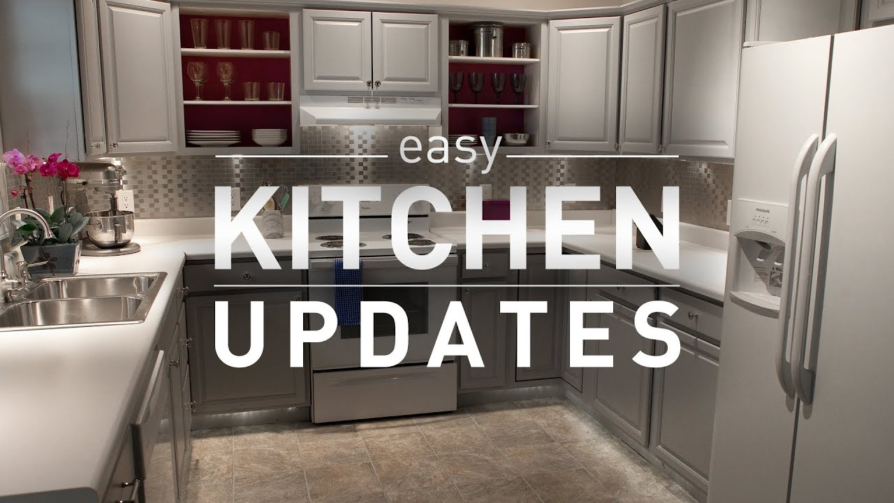 Inexpensive Kitchen Remodeling Budget Friendly Kitchen Makeover From Lowes Youtube