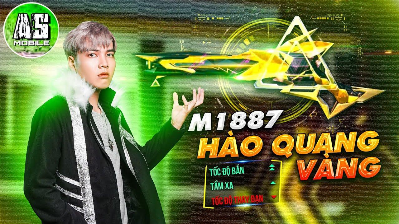 [Free Fire] Test Skin M1887 Hào Quang Vàng Quá Ức Chế | AS Mobile