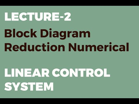 Block Diagram Reduction Numerical Linear Control System Youtube