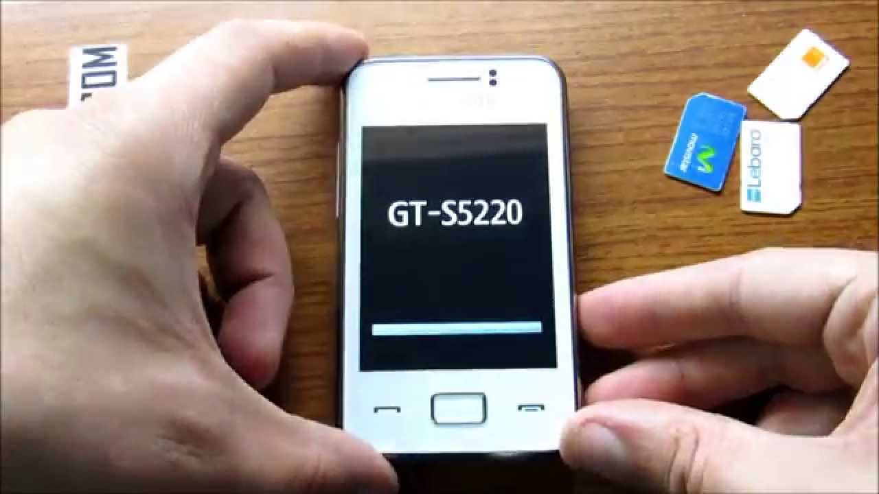 application samsung gt-s5220