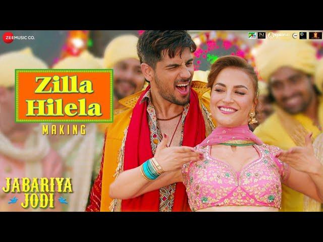 The Making of Zilla Hilela - Jabariya Jodi | Sidharth Malhotra | Elli AvrRam #1