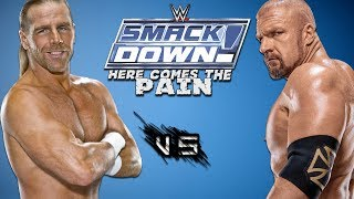 WWE Smackdown Here Comes The Pain Extreme Moments [Triple H Vs Shawn Michaels]