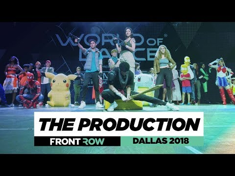 The Production  FrontRow  World of Dance Dallas 2018  WODDALLAS18