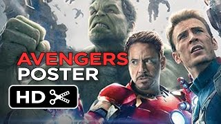 Avengers: Age of Ultron - Poster First Look (2015) - Marvel Movie HD