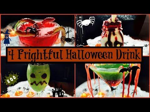 4 Frightful Halloween Drinks