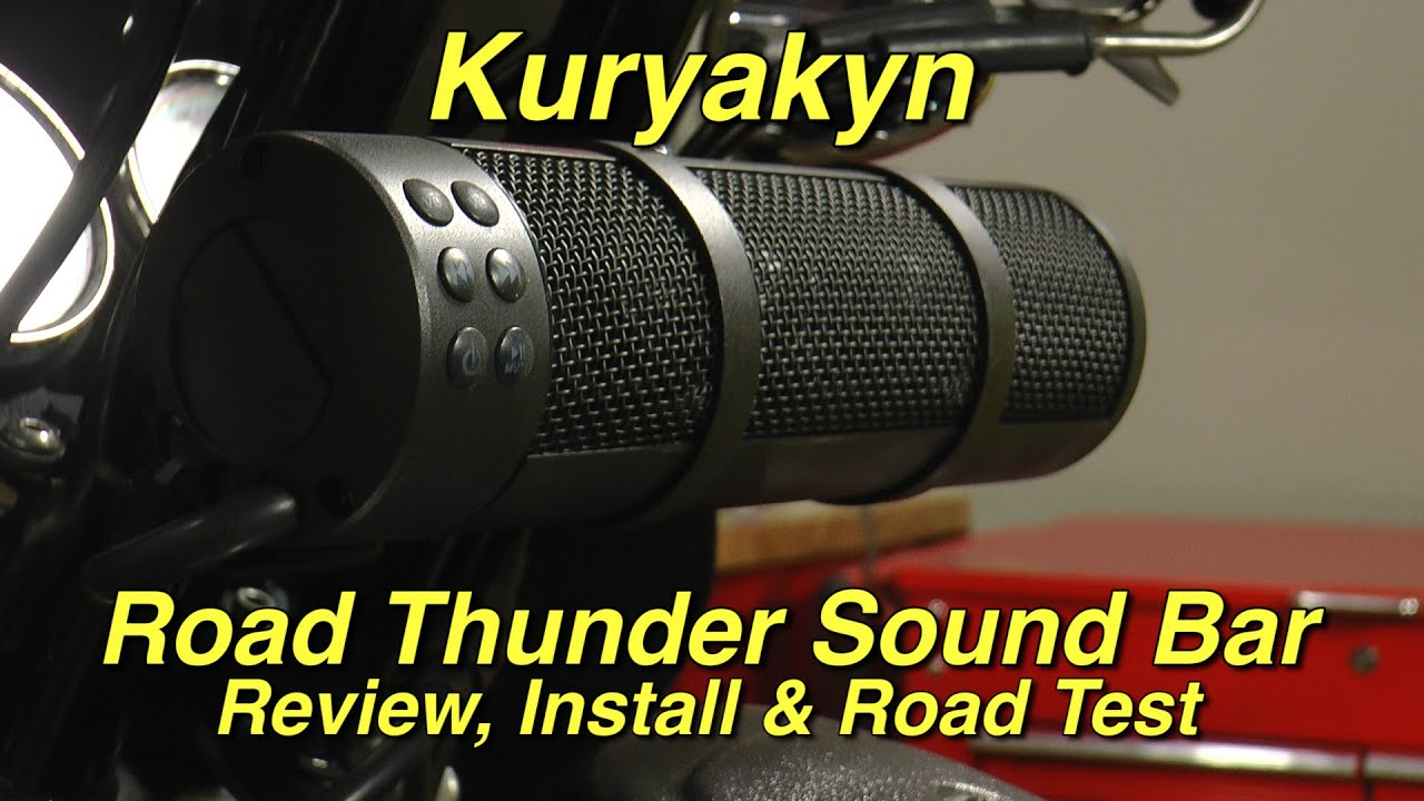 kuryakyn road thunder sound bar by mtx review, installation and road test by j\u0026p cycles HVAC Wiring Diagrams