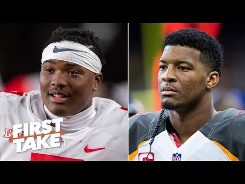 The Buccaneers should draft Dwayne Haskins to replace Jameis Winston – Stephen A. | First Take