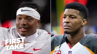 The Buccaneers should draft Dwayne Haskins to replace Jameis Winston - Stephen A. | First Take