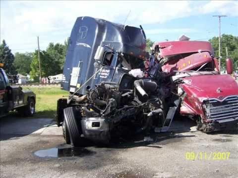 Semi Crashes (Waffco Heavy Duty Towing and Recovery)
