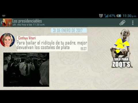 El Chat De Los Presidenciables De Ecuador