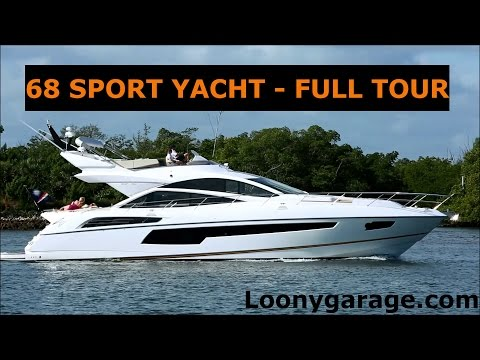 Sunseeker 68 Sport Yacht Full Tour