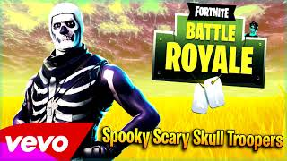 """Spooky Scary Skull Troopers"" Andrew Gold - Spooky Scary Skeletons (Fortnite Song Parody)"