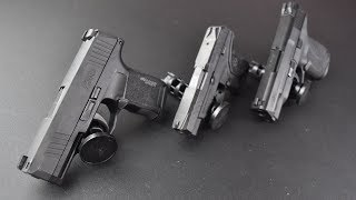My Top 3 Go To Concealed Cary Guns in 9mm, .380 & 45