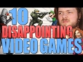 10 Disappointing Video Games