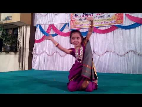 Mathurechya Bajari Dance Performance- Shrushti Bhadane  20160123 231811