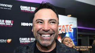 WILL GOLDEN BOY REPLACE EDDIE HEARN AS DAZN'S MAIN PROMOTER??!!!