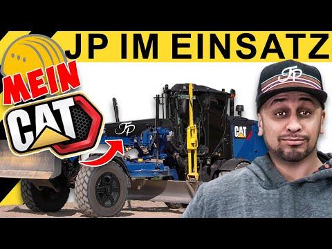 JP Performance - Ganz genau! | JP im Straßenbau mit 'Grader Albi' & seinem CAT 120M2 AWD