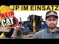 JP Performance - JP bei den Straßenbauern mit dem CAT Grader!