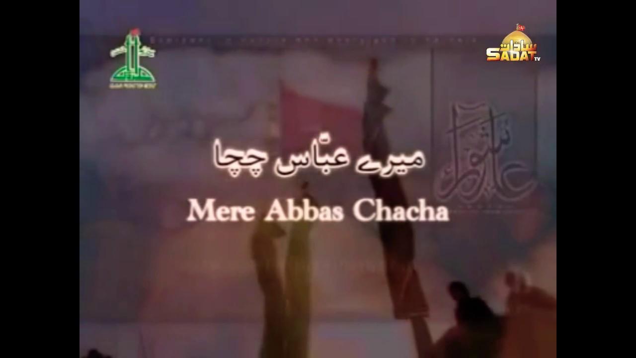 Mere Abbas Chacha || Meesam Raza Zaidi || Noha || Poetry || Meer Nazeer Baqri Sb.