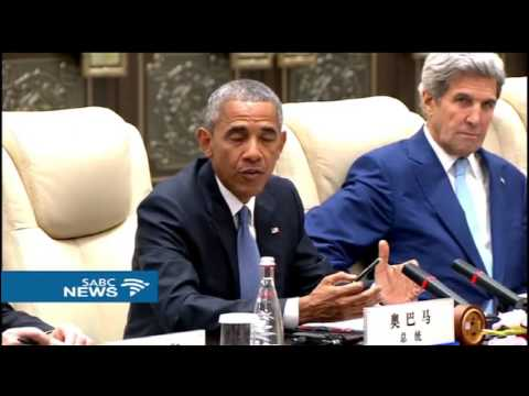 Obama, China ratify climate agreements: G20 summit