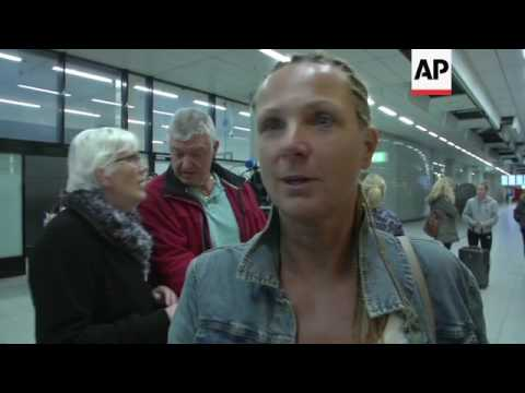 Dutch tourists relieved to be home from Gambia