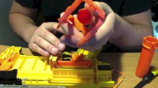Nerf Recon basic mod tutorial, air restrictor removal