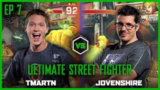 EP 7 | STREET FIGHTER | TmarTn vs Jovenshire | Legends of Gaming