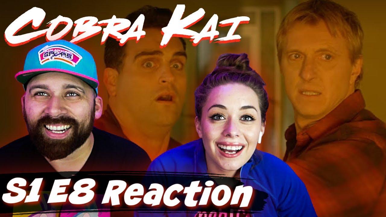 "Download Cobra Kai S1 E8 ""Molting"" Reaction & Review!"
