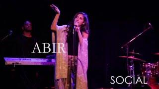 Amazing new artist  ABIR opening performance for Elle Varner in New York City