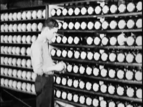 Westclox Factory Silent Film - Big Ben Alarm Clocks