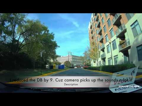 Cobra CDR 895D Dash Cam Review And Footage Quality Video Sample