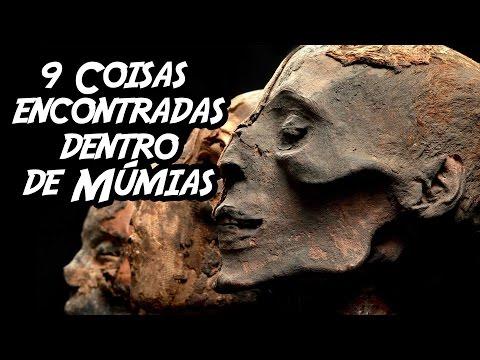 9 Coisas (Inacreditáveis) encontradas dentro de Múmias