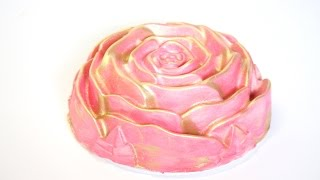 how to make a ROSE CAKE! | Its A Piece Of Cake
