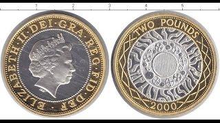 Обзор монеты Англии  номиналом 2 фунта стерлингов 2001 года !!!(, 2016-05-14T18:16:53.000Z)