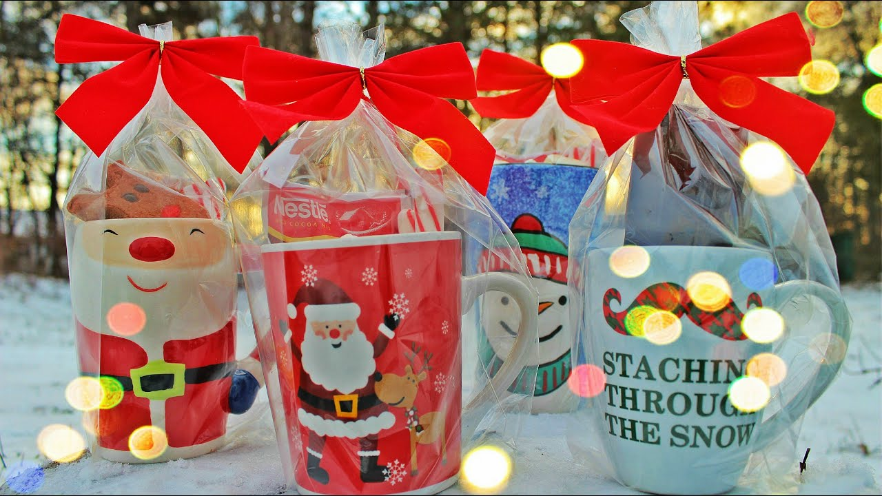 Christmas gift ideas with mug