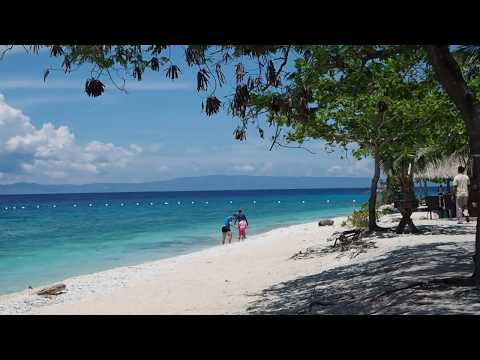 White beach area on Sumilon Island, South Cebu