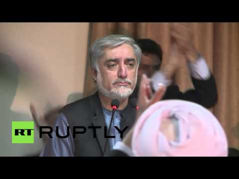 Afghanistan: Abdullah Abdullah rejects 'fraudulent' pres'l elections