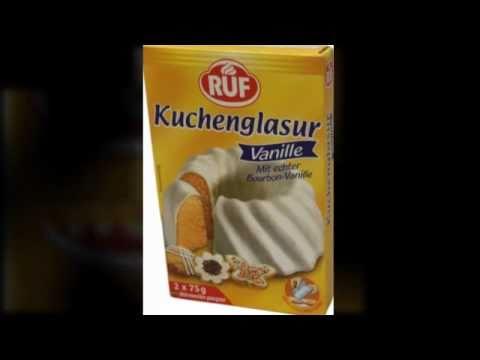 Ruf Kuchenglasur Weiss Youtube