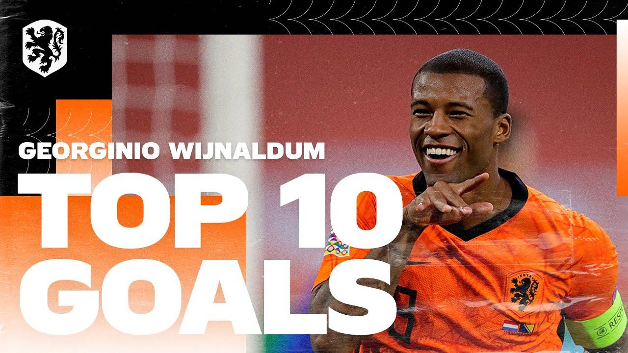 Download Georginio Wijnaldum   Top 10 goals in Oranje 🔥