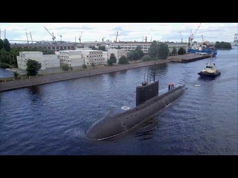 """Завершены испытания новой подлодки """"Петропавловск-Камчатский"""""""