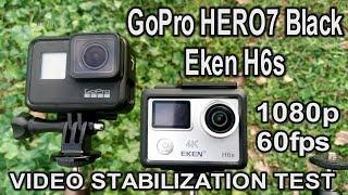 1080p60fps (gopro hero7 black)(eken h6s ...