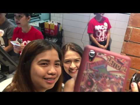 DongYan at McDonald's Valero for National Breakfast Day - 동영상