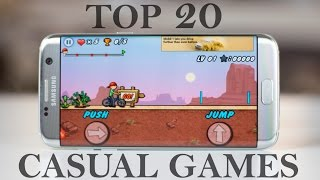 Top 20 best casual games for android 2017-2018 | small but addictive