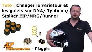 Tuto Changer le variateur et/ou les galets de son Typhoon / Stalker / Zip / ...