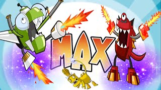 Mixels Rush: Max MAx MAX - Cartoon Network Games