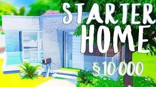 STARTER HOME / Стартовый дом за 10 000  / The Sims 4: Build